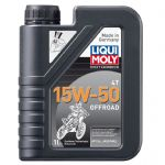 Liqui Moly 4-Stroke Off-Road Semi Synthetic Race Oil - 15w/50